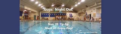 Guys' Night Out: Evans Pool 11/20 7p-8p