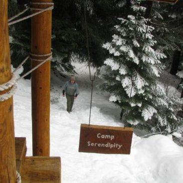 Camp Serendipity aka Paul's Cabin 1/9-1/10