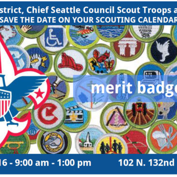 Aurora District Merit Badge Fair – April 30